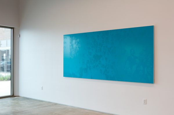 Emmanuel Van der Auwera, Memento (Farewell, Blue), 2019