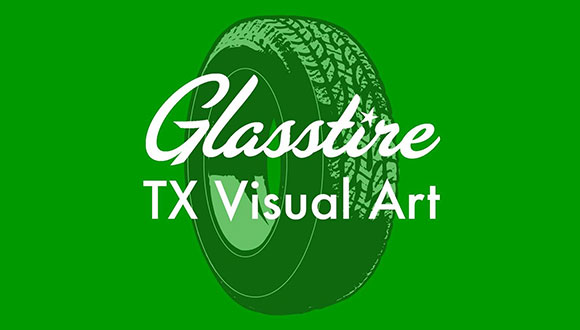 Glasstire Art in Texas logo
