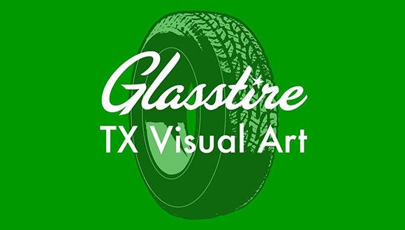 Glasstire Art in Texas logo