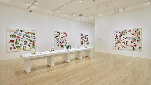 Installation view of Günther Förg: A Fragile Beauty at the DMA earlier this year.