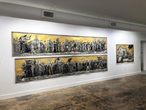 Sandow Birk & Elyse Pignolet's American Procession