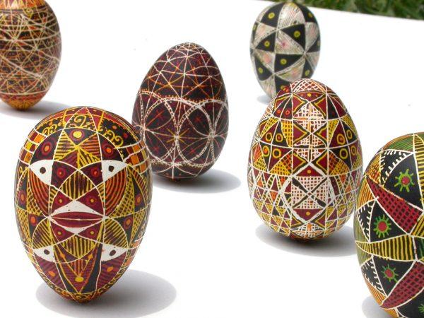 Pysanky eggs by Houston Artist Nestor Topchy