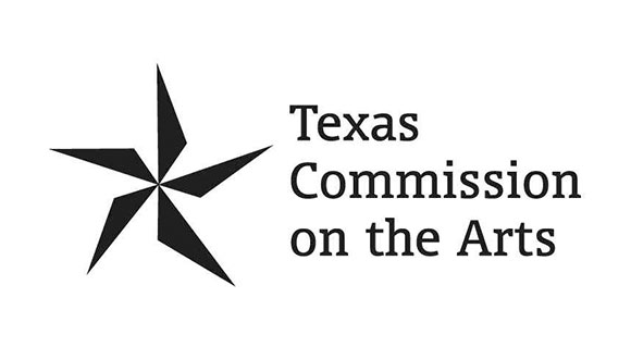 Texas commission on the arts feature logo