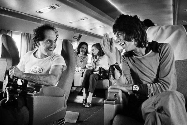 Robert Frank and Mick Jagger, 1972