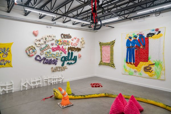 """Installation view of Alexis Mabry and Steef Crombach's """"M*A*S*H"""" at Co-Lab Projects, Austin, TX. All photos by Ryan Davis, courtesy of Co-Lab Projects."""