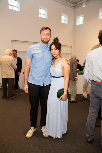 Austin Curtis and Nadia Al Khalifa