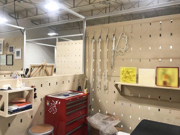 Carmen Menza's studio