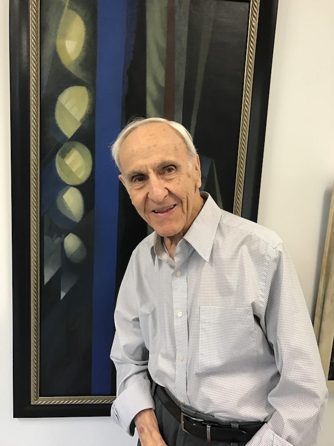 George Grammer at Texas Wesleyan University in 2017. Photo: BB Moncrief
