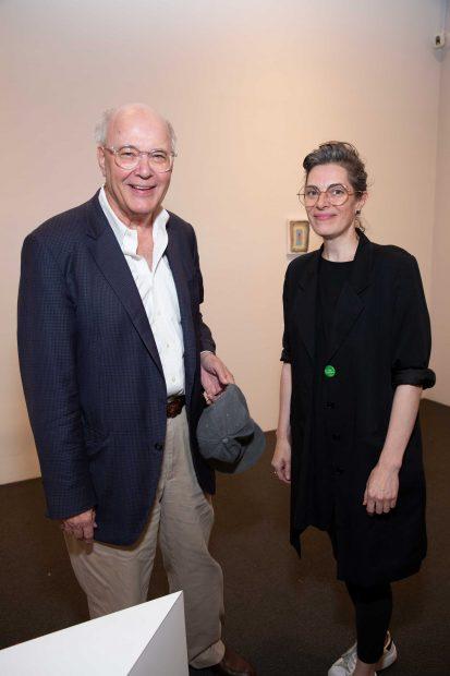 Ian Glenny and Nancy Douthey