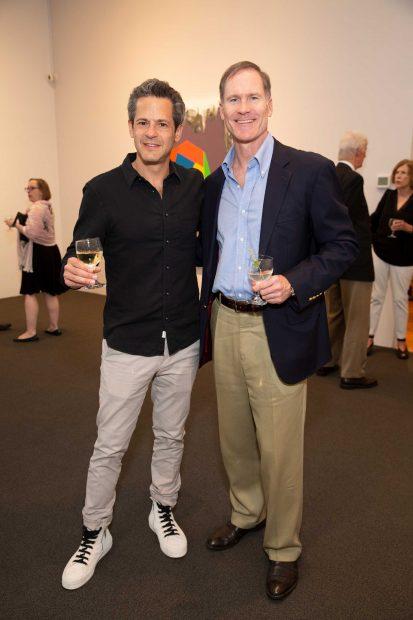 Justin Segal and Jamie Bell