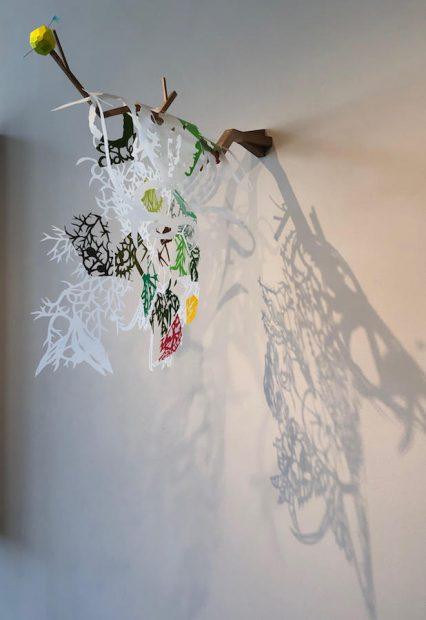 Work by Leigh Ann Lester at Ruiz-Healy in San Antonio