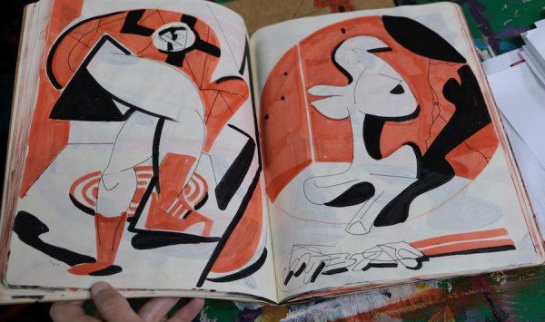 Drew Liverman drawing