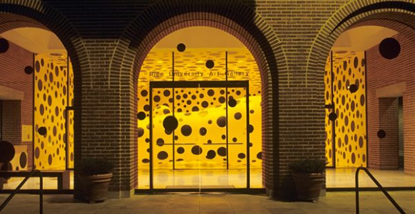 Rice University Art Gallery Kusama Exhibition
