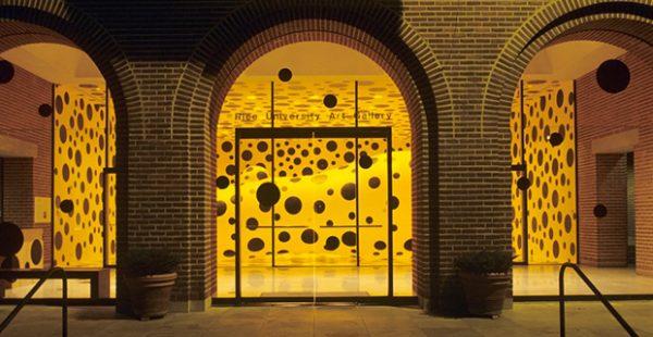 Rice University Art Gallery Kusama Exhibition