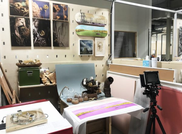 Shawn Saumell's studio