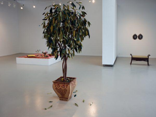 Installation view of Erin Stafford's Lovesick at Kirk Hopper Fine Art, Dallas