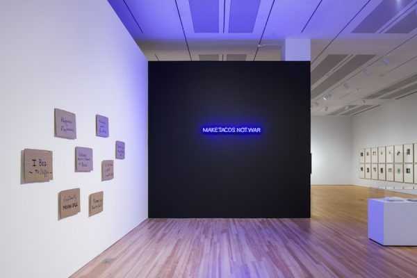 Installation View of Words/Matter