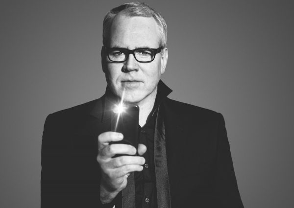 Bret Easton Ellis (photo Max Vadukul for Los Angeles Magazine)