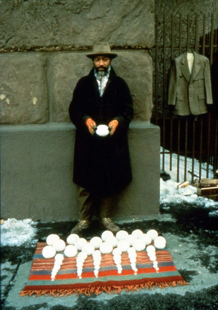 david-hammons-blizzardball-snowball-sale
