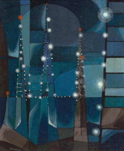 George Grammer, Offshore, 1953