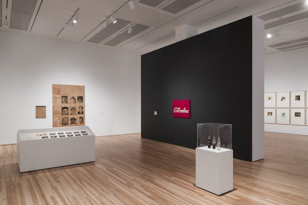 Installation View of Words/Matter: Latin American Art and Language at the Blanton