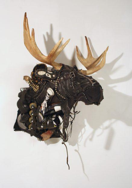 Ken Little, Black Jacket Moose, 2007