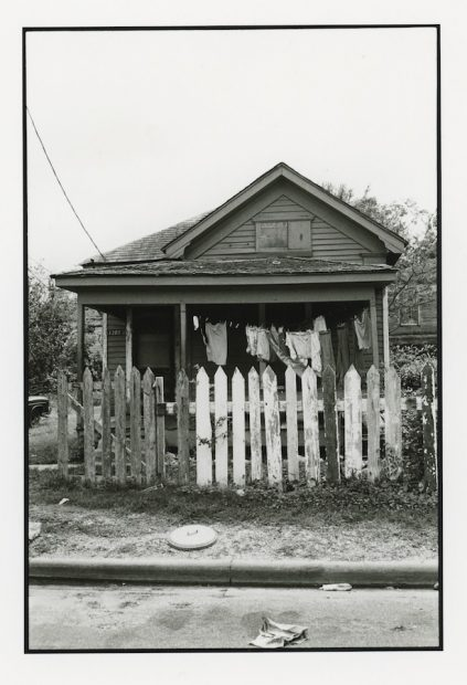 Elbert Howze, from the exhibition Motherward, 1985, courtesy of Houston Center for Photography.