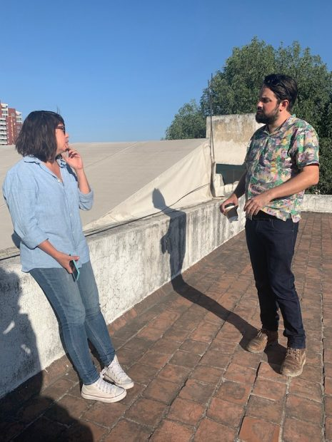 Leslie Moody Castro's recent art travels in Guadalajara.
