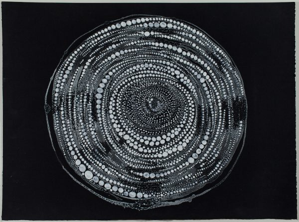"Madeline Irvine, Pearls. Archival print, 22 x 22"""