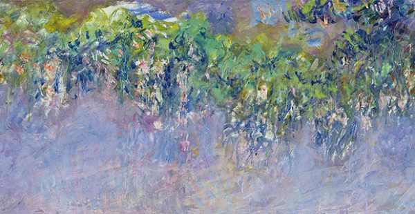 Monet art show at the Kimbell in Fort Worth Texas