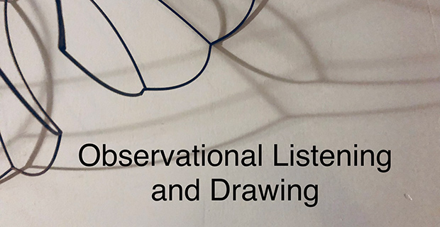 Recreational Aesthetics- Observational Listening and Drawing Series at Mystic Lyon in Houston June 8 2019
