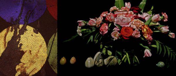 Sarah Sudhoff, Murder, Male, 40 years old (I), Archival Pigment Print, 40 x 30 inches, 2010. (r) Debra Barrera, Quintanilla, Rosa, archival pigment print, 2018
