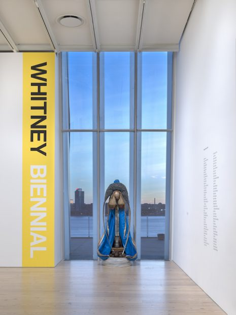 Installation view of the Whitney Biennial 2019