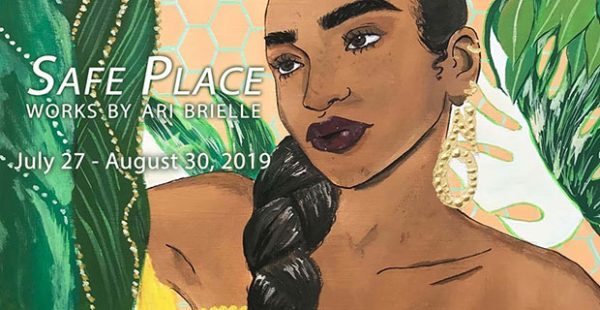 Ari Brielle- Safe Place at Oak Cliff Cultural Center in Dallas July 27 2019
