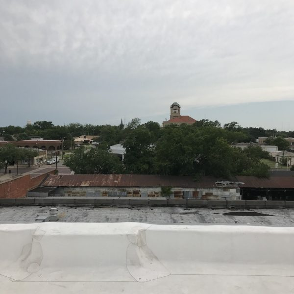 View from the roof of 100 West.