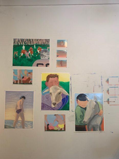 Work in progress by Ana Segovia