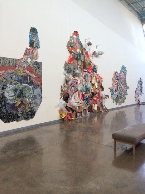 Installation view, Blake and Hannah Sanders at LHUCA