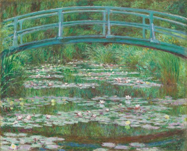 Claude Monet, The Japanese Footbridge, 1899.