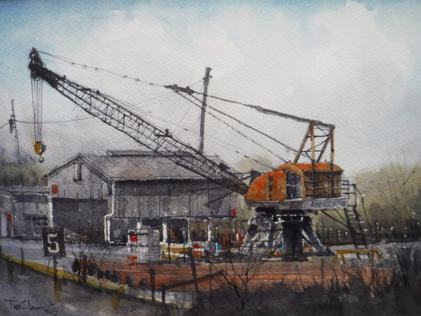 Tim Oliver, Canal Crane