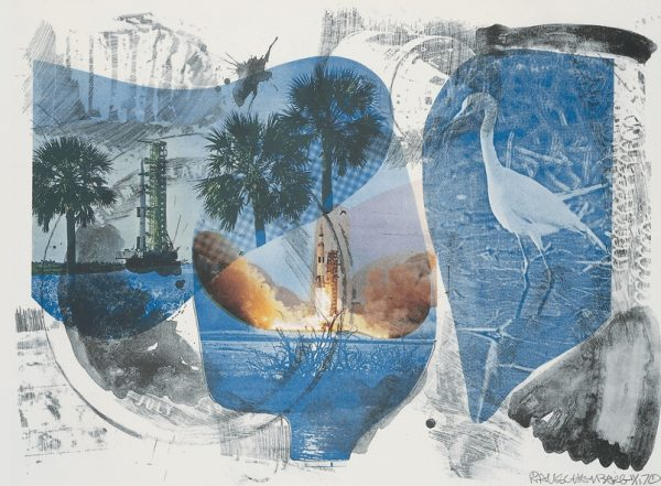 From Rauschenberg's Stoned Moon series