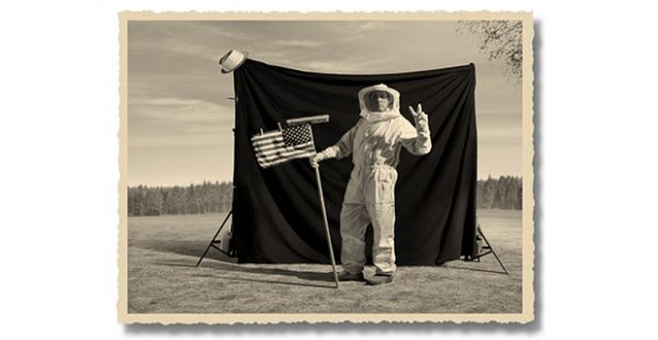 Thomas Herbrich- The Truth About the Moon Landing at PDNB Gallery in Dallas July 13 2019