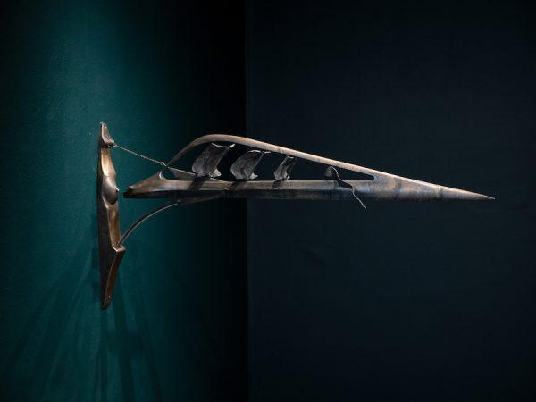 Shana Hoehn, 400 years of digestion, serpent swallows ship, 2019