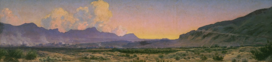 Audley Dean Nicols' Untitled [View of El Paso, Looking South]