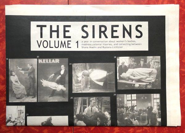 Shana Hoehn and Ruslana Lichtzier, The Sirens: Volume 1, 2019