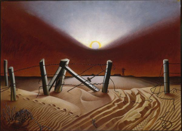 Alexandre Hogue, Dust Bowl, 1933