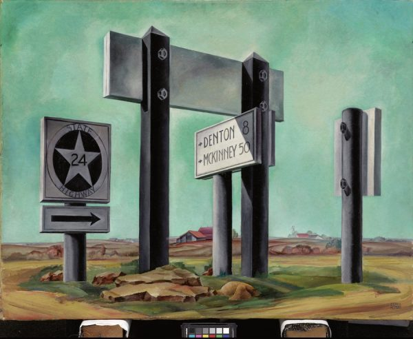 Coreen Mary Spellman, Road Signs, 1936