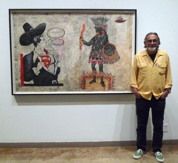 Enrique Chagoya with Crossing 1, 1994