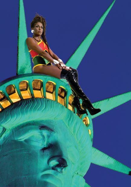 Renée Cox, Chillin' with Liberty, 1998