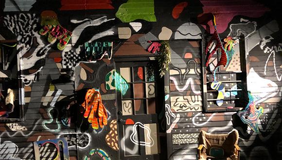 Adam-Palmer-and-Marielle-Guzman-mural-collaboration-at-mananaland