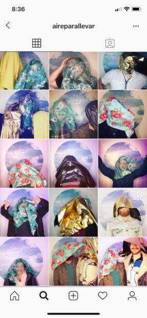 Screenshot of Aire Para Llevar Instagram.
